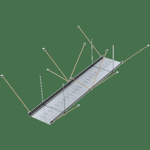 Seismische Aussteifungssysteme – Alutray Systems