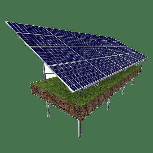 Solar-Montage-Strukturen – Alutray Systems