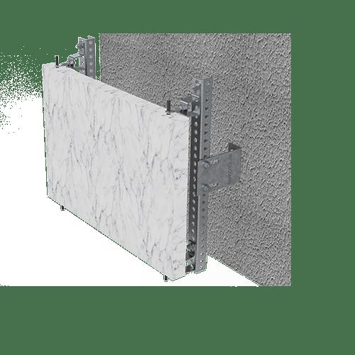 Systeme zur Fassadenbefestigung – Alutray Systems
